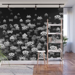 Invaded BLACK Wall Mural