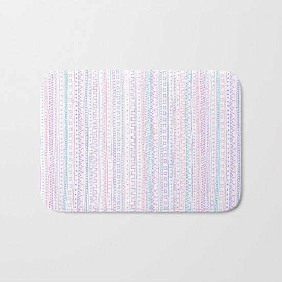 Pattern Bath Mat