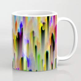 Colorful digital art splashing G393 Coffee Mug
