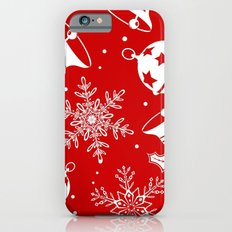 christmas pattern iPhone 6s Slim Case