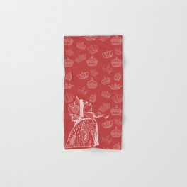 Queen of Hearts and Crowns Hand & Bath Towel