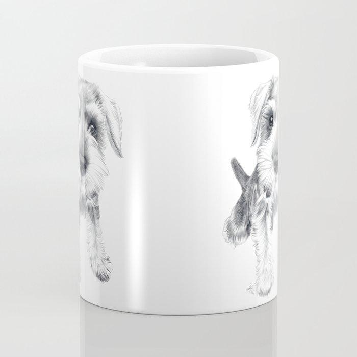 Schnozz the Schnauzer Coffee Mug