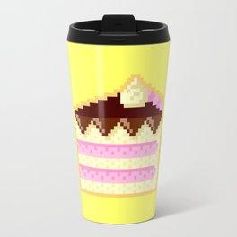 Pixel Cake Travel Mug