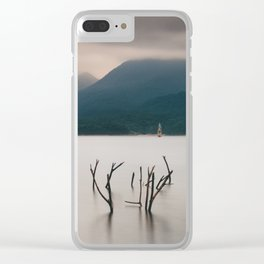 Ghostly Winds Clear iPhone Case