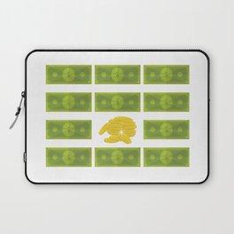 Set of money Laptop Sleeve