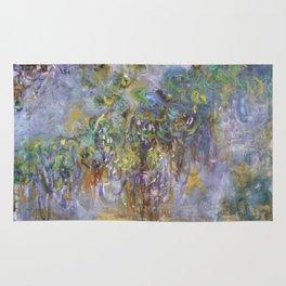 "Claude Monet ""Wisteria"", 1919-1920 Rug"
