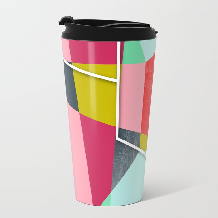 ColorBlock V Travel Mug