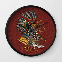 Feathered Gods Wall Clock