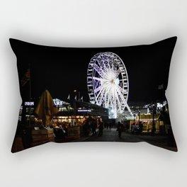 Ferris Wheel Cape Town Rectangular Pillow