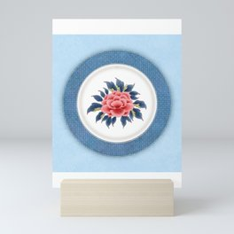 Korea traditional flower art moran3 Mini Art Print