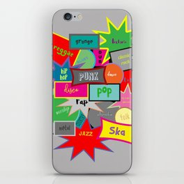 What Are You Listening To? iPhone Skin