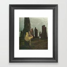 Lost Memories Framed Art Print