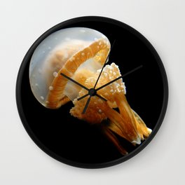 Spotted Jelly Fish Wall Clock
