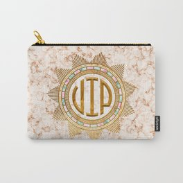 VIP - Gold multicolor Carry-All Pouch