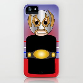 Masked Angel  iPhone Case