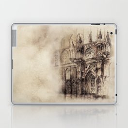 Gothic Cathedral 2 Laptop & iPad Skin