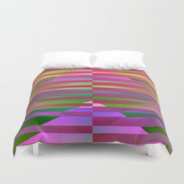 Geometrical-colorplay-pattern #1 Duvet Cover