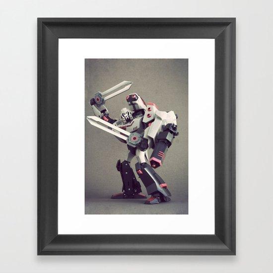 Megatron (Animated) Framed Art Print