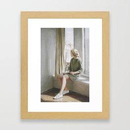 Color and light Study II Framed Art Print