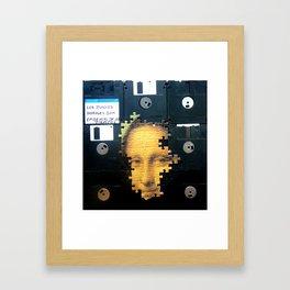 ¿Mona? Framed Art Print