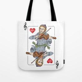 Fiddler poker Tote Bag