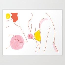 Heather Art Print