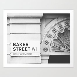 Baker Street, London Photography Art Print