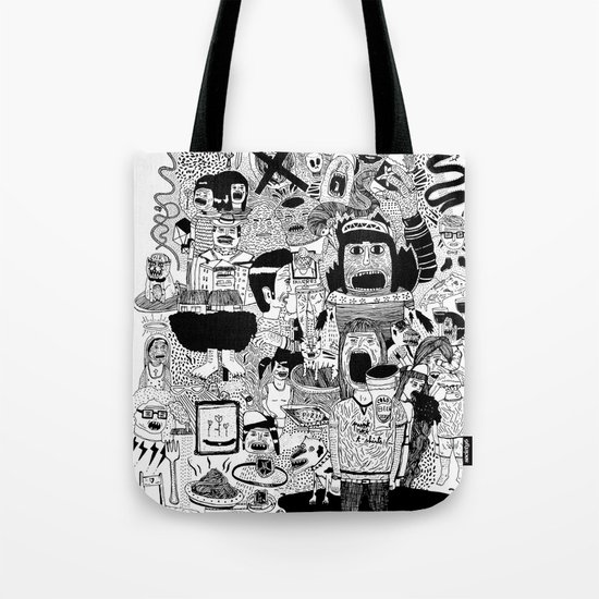 KIDS DOOM Tote Bag