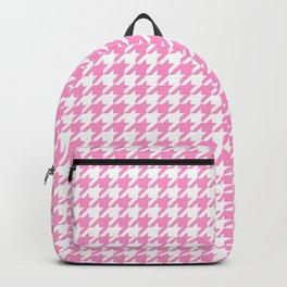 Rose Quartz Houndstooth Backpack