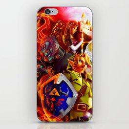 The Legend of Zelda iPhone Skin
