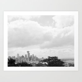 Seattle Days Art Print