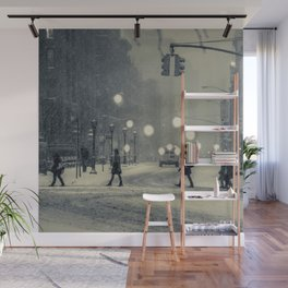 Snow City Wall Mural