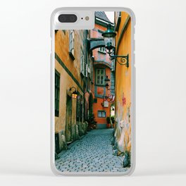 Griechengasse, Vienna Clear iPhone Case