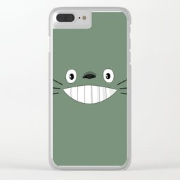 Studio Ghibli Movie Inspiration Clear iPhone Case