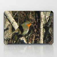 robin iPad Cases featuring robin by giol's