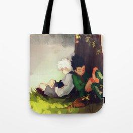 Gon and Killua Tote Bag
