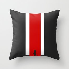 The Effect (Clean) Throw Pillow