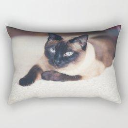 Siames Cat Rectangular Pillow