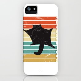 Sugar Glider Retro iPhone Case