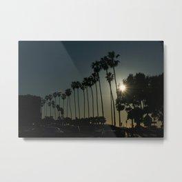Hello, Palm Trees Metal Print