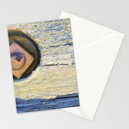 Yellow bolt Stationery Cards