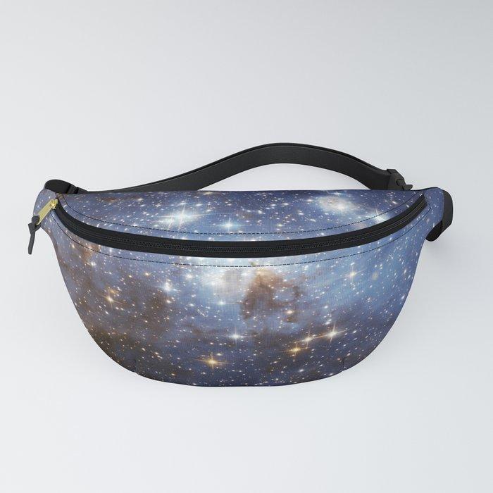 LH 95 stellar nursery in the Large Magellanic Cloud (NASA/ESA Hubble Space Telescope) Fanny Pack