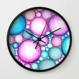 OBLIVIOUS SPHERES Wall Clock