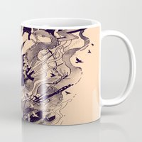 chaos Mugs featuring Chaos by nicebleed