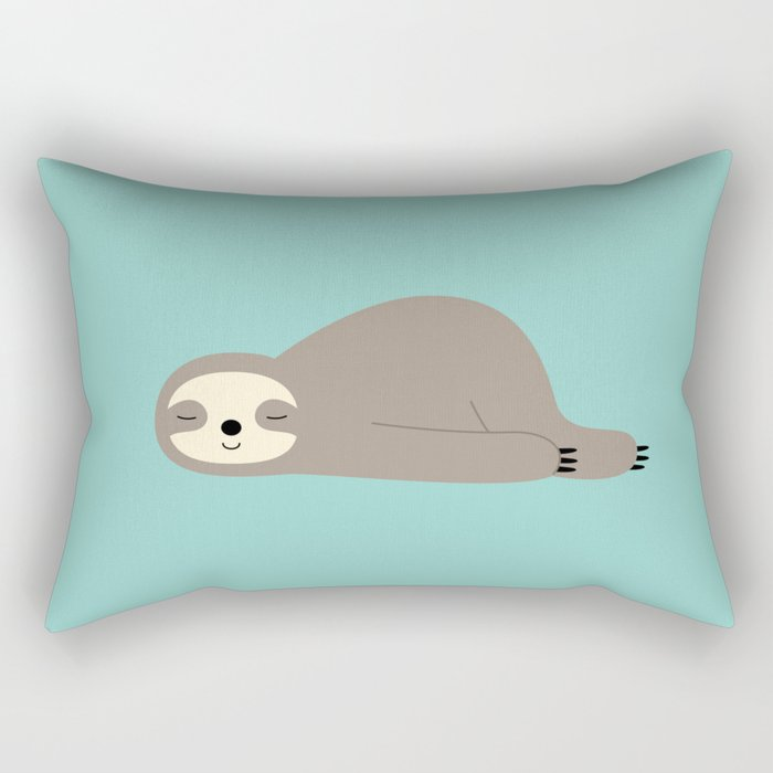 Do Nothing Rectangular Pillow