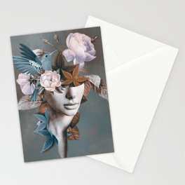 Floral Portrait 11 Stationery Cards