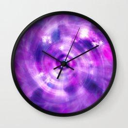 Ultraviolet Sahasrara (Pantone Colour of the Year 2018) Wall Clock