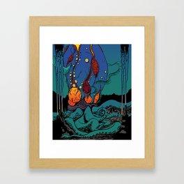 Eldritch Princesses: Ariel Framed Art Print