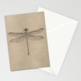 Dragonfly Fossil Dos Stationery Cards