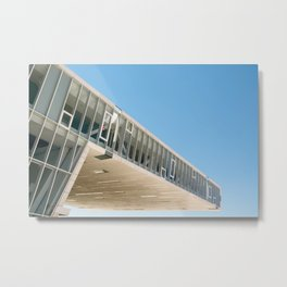 Architectronic Metal Print